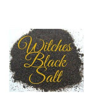 Witch's Black Salt, 1/2 cup (4.8 oz)
